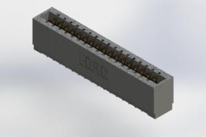 726-017-525-101 - Press-Fit Card Edge Connectors