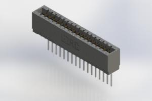 726-017-540-101 - Press-Fit Card Edge Connectors