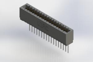 726-017-545-101 - Press-Fit Card Edge Connectors