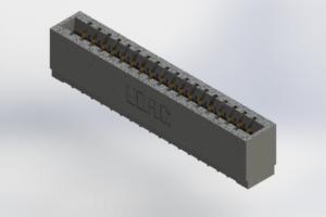 726-018-520-101 - Press-Fit Card Edge Connectors