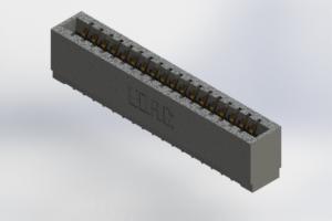 726-018-525-101 - Press-Fit Card Edge Connectors