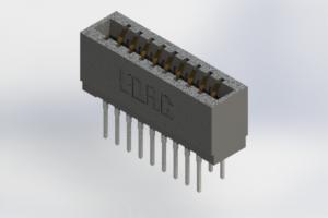 726-018-527-201 - Press-Fit Card Edge Connectors