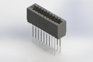 726-018-541-201 - Press-Fit Card Edge Connectors