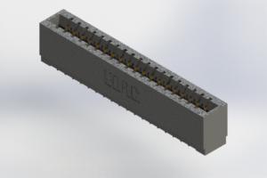 726-019-520-101 - Press-Fit Card Edge Connectors
