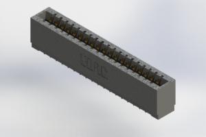 726-019-525-101 - Press-Fit Card Edge Connectors