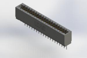 726-019-527-101 - Press-Fit Card Edge Connectors