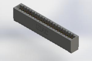 726-020-520-101 - Press-Fit Card Edge Connectors