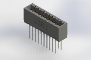 726-020-540-201 - Press-Fit Card Edge Connectors