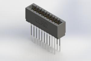 726-020-541-201 - Press-Fit Card Edge Connectors