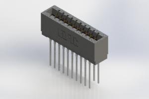 726-020-553-201 - Press-Fit Card Edge Connectors