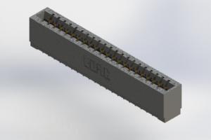 726-021-520-101 - Press-Fit Card Edge Connectors
