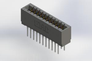 726-022-527-201 - Press-Fit Card Edge Connectors
