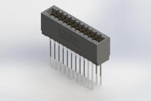 726-022-541-201 - Press-Fit Card Edge Connectors