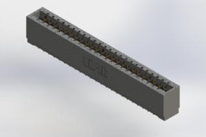 726-024-520-101 - Press-Fit Card Edge Connectors
