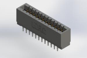 726-024-520-201 - Press-Fit Card Edge Connectors