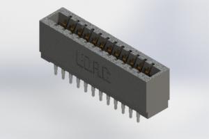 726-024-525-201 - Press-Fit Card Edge Connectors