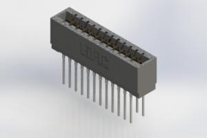 726-024-540-201 - Press-Fit Card Edge Connectors