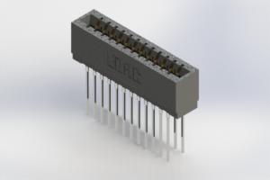 726-024-541-201 - Press-Fit Card Edge Connectors