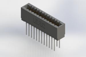 726-024-545-201 - Press-Fit Card Edge Connectors
