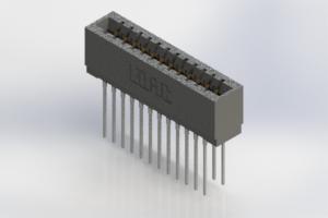726-024-553-201 - Press-Fit Card Edge Connectors
