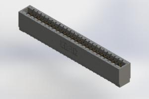 726-025-520-101 - Press-Fit Card Edge Connectors