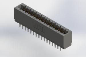 726-032-525-201 - Press-Fit Card Edge Connectors