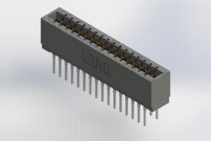 726-032-527-201 - Press-Fit Card Edge Connectors