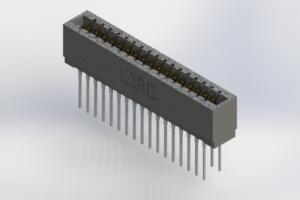 726-034-545-201 - Press-Fit Card Edge Connectors