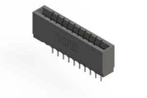 737-010-522-101 - Press-fit Card Edge Connector