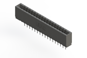 737-017-522-101 - Press-fit Card Edge Connector