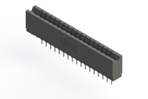 737-017-522-106 - Press-fit Card Edge Connector