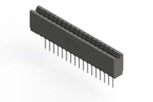 737-017-540-106 - Press-fit Card Edge Connector