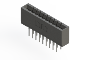 737-018-522-201 - Press-fit Card Edge Connector