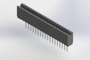 737-018-540-106 - Press-Fit Card Edge Connectors