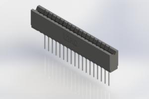 737-018-541-106 - Press-Fit Card Edge Connectors