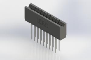 737-018-541-206 - Press-Fit Card Edge Connectors