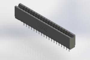 737-019-522-106 - Press-Fit Card Edge Connectors