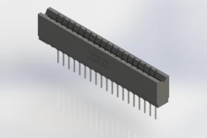 737-019-540-106 - Press-Fit Card Edge Connectors