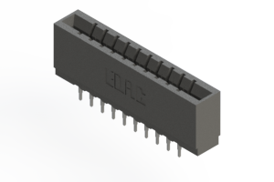 737-020-520-201 - Press-fit Card Edge Connector