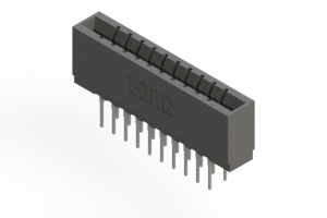 737-020-522-201 - Press-fit Card Edge Connector