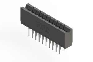 737-020-522-206 - Press-fit Card Edge Connector