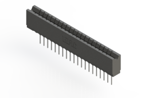 737-020-540-106 - Press-fit Card Edge Connector