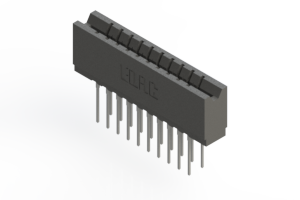 737-020-540-206 - Press-fit Card Edge Connector