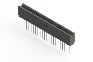 737-020-541-106 - Press-fit Card Edge Connector