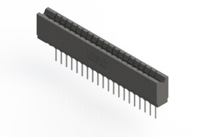 737-020-545-106 - Press-fit Card Edge Connector
