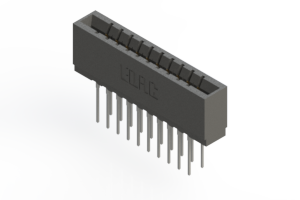 737-020-545-201 - Press-fit Card Edge Connector