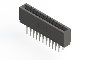737-022-522-201 - Press-fit Card Edge Connector
