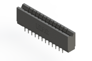 737-024-520-206 - Press-fit Card Edge Connector
