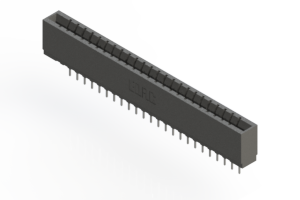 737-024-522-101 - Press-fit Card Edge Connector