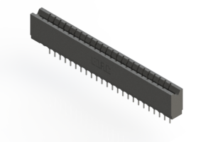 737-024-522-106 - Press-fit Card Edge Connector